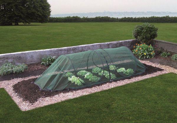 GardenGuard Pflanzenschutztunnel für Gartenbeet, mehrfach erweiterbar, Pop-Up-System