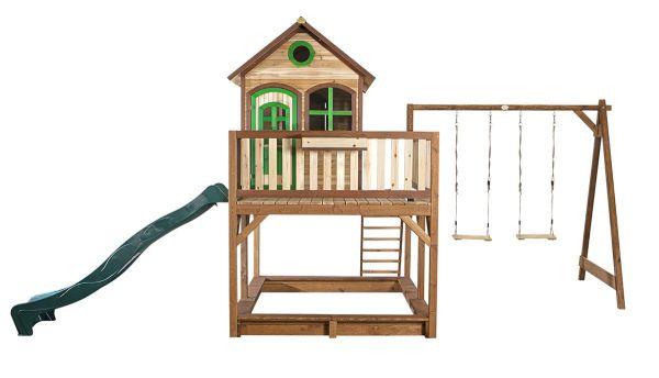 Axi Spielhaus Liam mit Schaukel, Rutsche und Veranda