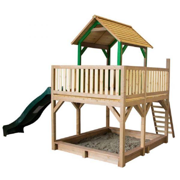 Spielturm Atka mit Rutsche