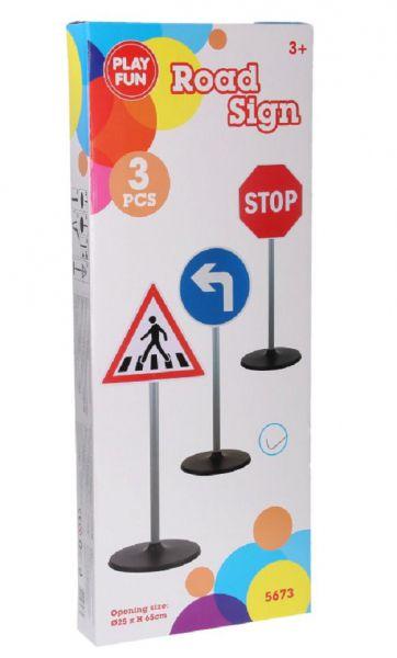 Verkehrszeichen für Kinder, Verkehrsschilder