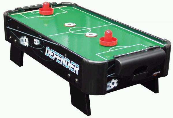 Airhockey DEFENDER-XS, Tischauflage, einfach mitzunehmen