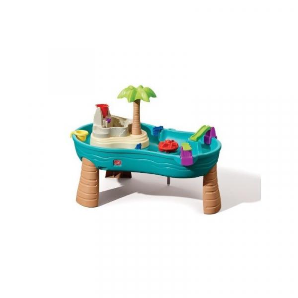 Wasserspieltisch mit Insel, Spieltisch waterplay