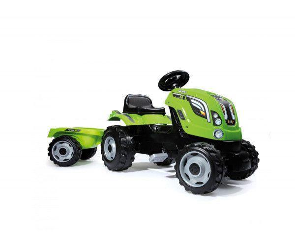 Smoby Traktor mit Anhänger, Claas, 2 Farben