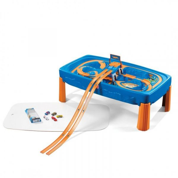 Hot Wheels Spieltisch mit viel Zubehör