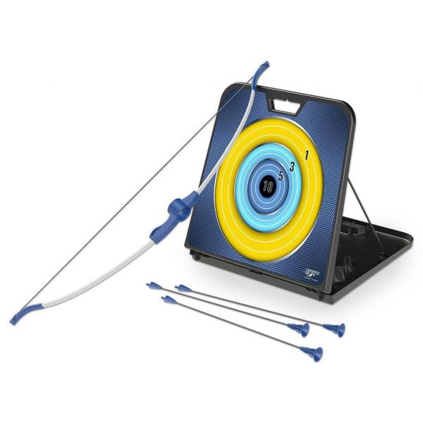 Pfeil und Bogen Set, mit Zielscheibe und Aufbwahrung